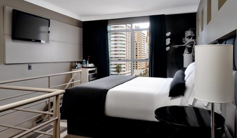 apartamento loft do hotel full jazz