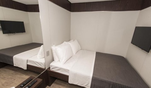 suite casal do mini hotel fast sleep guarulhos